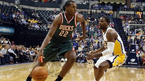 Bucks at Pacers: 11/4/14