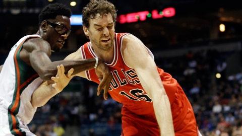 Bulls at Bucks: 11/5/14
