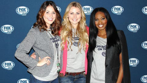 Why are the FOX Sports Wisconsin Girls smiling? Because they can now watch the Bucks on their phones thanks to FOX Sports GO!
