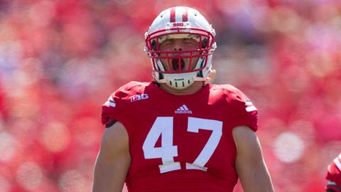 Saints (from Patriots, through Browns, compensatory pick): Vince Biegel, DE, Wisconsin