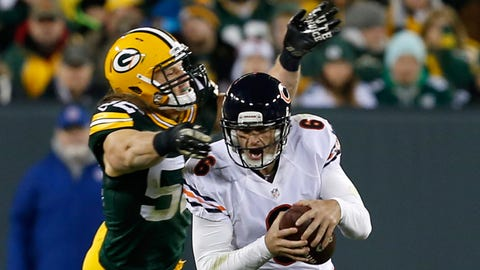 CHICAGO: at Green Bay in Week 12 (8:30 p.m. ET/Nov. 26)