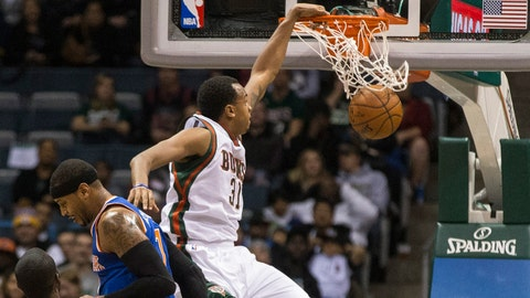 Knicks at Bucks: 11/18/14