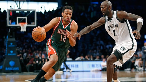 Bucks at Nets: 11/19/14