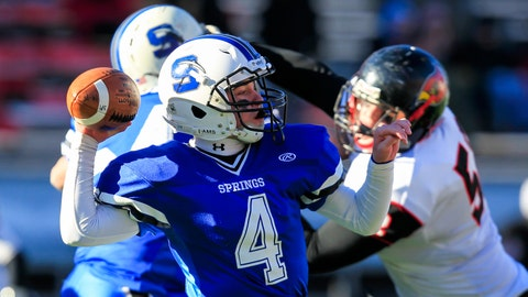 WIAA D-6 title game: St. Mary's Springs vs. Darlington