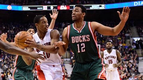 Bucks at Raptors: 11/21/14
