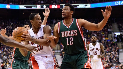 Bucks at Raptors: 11/21/14