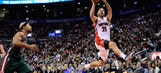 Raptors rout Bucks, 124-83