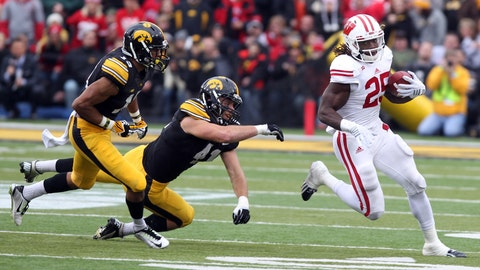Badgers at Hawkeyes: 11/22/14