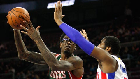 Bucks at Pistons: 11/28/14
