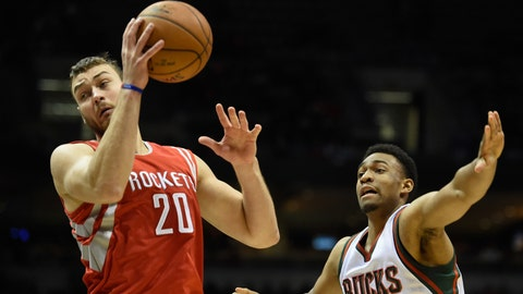 Rockets at Bucks: 11/29/14