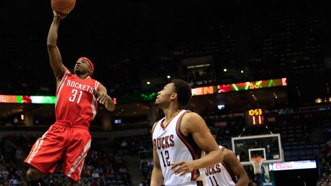 Rockets at Bucks: 11/29/14