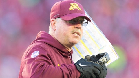Jerry Kill tabbed as Big Ten's top coach