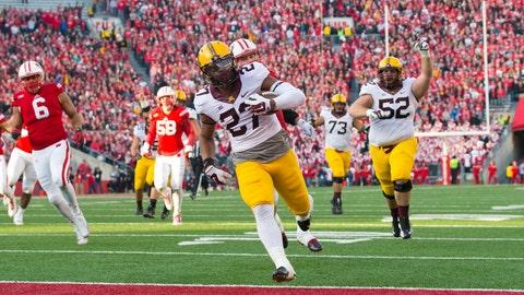 Round 3: David Cobb, running back, Minnesota