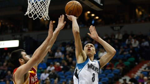 Rockets at Wolves: 12/5/14