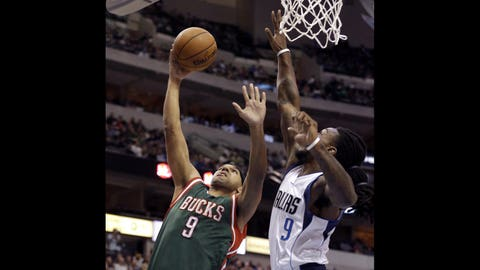 Bucks at Mavericks: 12/7/14