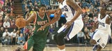 Undersized Bucks use 3-point barrage to topple Kings