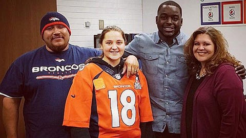 Montee Ball, Broncos and ex-Badgers running back