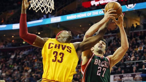 Milwaukee Bucks at Cleveland Cavaliers: 12/31/14
