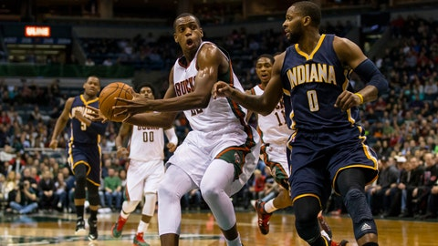 Pacers at Bucks: 1/2/15