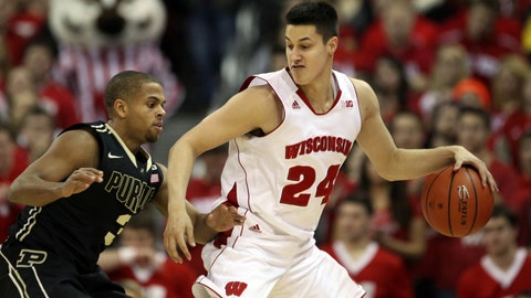 Boilermakers at Badgers: 1/7/15