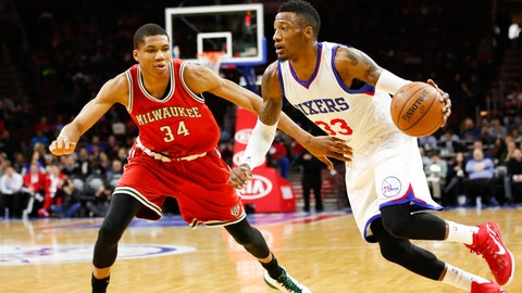 Bucks at Sixers: 1/7/15