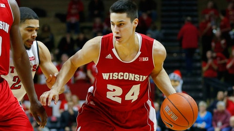 Badgers at Scarlet Knights: 1/11/15