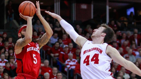 Cornhuskers at Badgers: 1/15/15