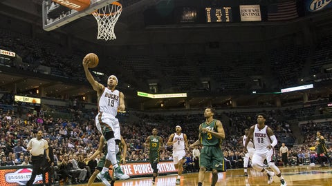 Utah Jazz at Milwaukee Bucks: 1/22/15