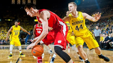 Badgers at Wolverines: 1/24/15
