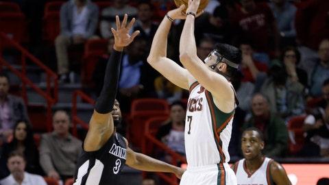 Bucks at Heat: 1/27/15