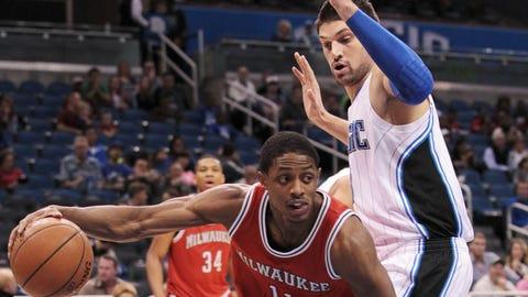 Milwaukee Bucks at Orlando Magic: 1/29/15