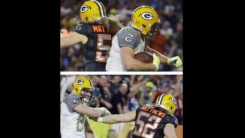 Clay Matthews, LB, Green Bay Packers