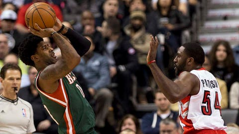 Bucks at Raptors: 2/2/15