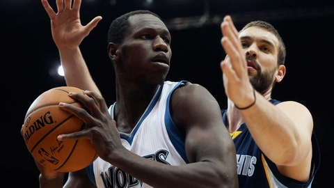 Grizzlies at Wolves: 2/6/15