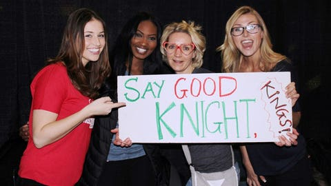 """Brandon Knight scored 20 points, helping the Bucks """"say good knight"""" to the Kings with a 111-103 victory!"""