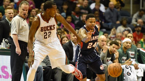 PHOTOS: Hawks 97, Bucks 86