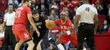 Harden, Rockets hold off Wolves