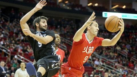 Pablo Prigioni, 37, Houston Rockets