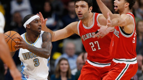 PHOTOS: Nuggets 106, Bucks 95