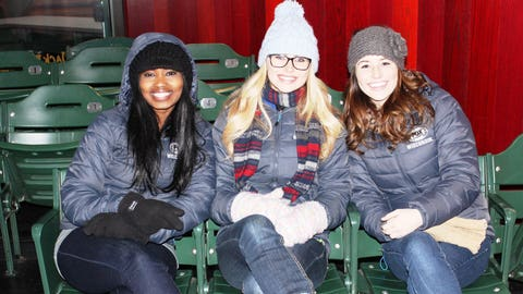 Opening Day is a month away! Bishara, Sage & Chyna can't wait to get back to Miller Park.