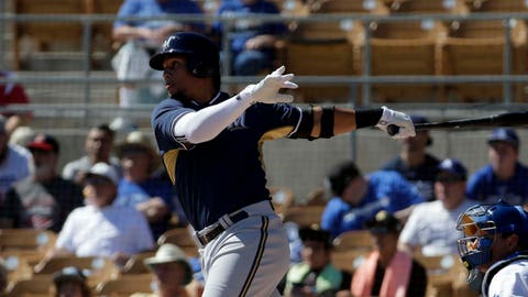 Brewers vs. Dodgers: 3/8/15