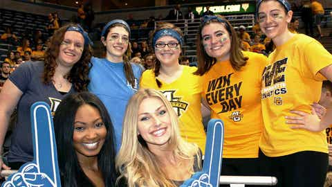 The Golden Eagles will also be No. 1 to these fans. They're ready to cheer Marquette on to victory vs. DePaul.