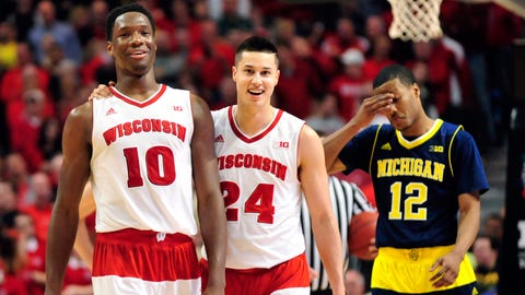 PHOTOS: Badgers 71, Wolverines 60