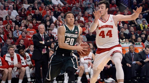 PHOTOS: Badgers 80, Spartans 69