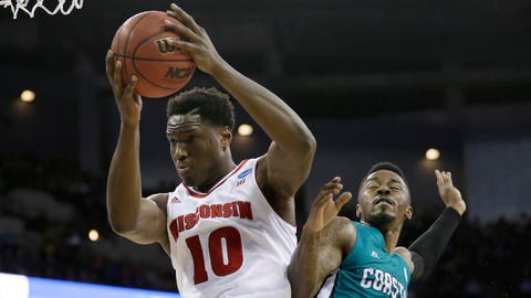 Badgers vs. Chanticleers: 3/20/15