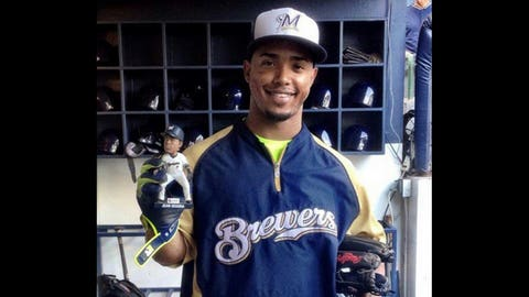 Carlos Gomez, CF, Brewers