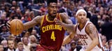 Iman Shumpert may have to sit Game 3 with injury