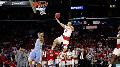 PHOTOS: Badgers 79, Tar Heels 72