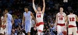 North Carolina falls to top-seeded Wisconsin in Sweet 16