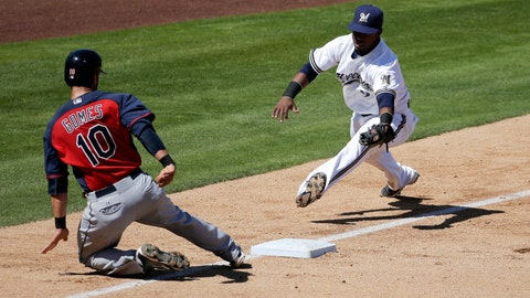 Brewers vs. Indians: 3/28/15
